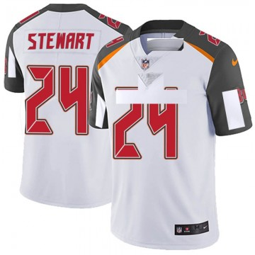 Youth Nike Tampa Bay Buccaneers Darian Stewart White Vapor Untouchable Jersey - Limited