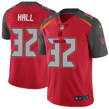 Youth Nike Tampa Bay Buccaneers Deiondre' Hall Red Team Color Vapor Untouchable Jersey - Limited