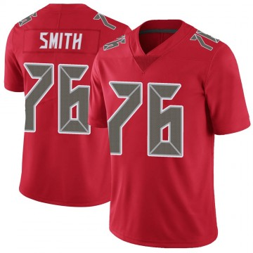 Youth Nike Tampa Bay Buccaneers Donovan Smith Red Color Rush Jersey - Limited
