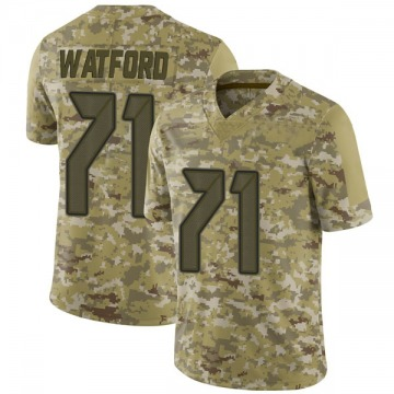 Youth Nike Tampa Bay Buccaneers Earl Watford Camo 2018 Salute to Service Jersey - Limited