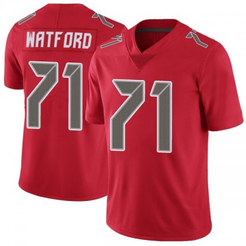 Youth Nike Tampa Bay Buccaneers Earl Watford Red Color Rush Jersey - Limited