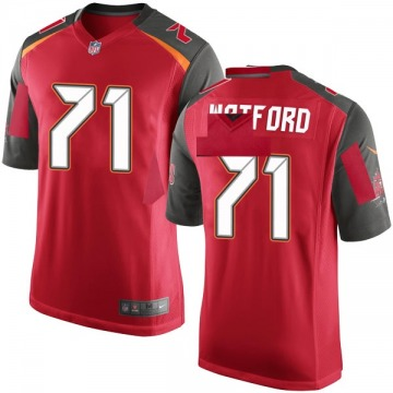 Youth Nike Tampa Bay Buccaneers Earl Watford Red Team Color Jersey - Game