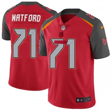 Youth Nike Tampa Bay Buccaneers Earl Watford Red Team Color Vapor Untouchable Jersey - Limited