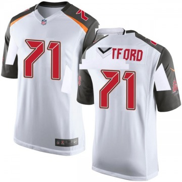 Youth Nike Tampa Bay Buccaneers Earl Watford White Jersey - Game