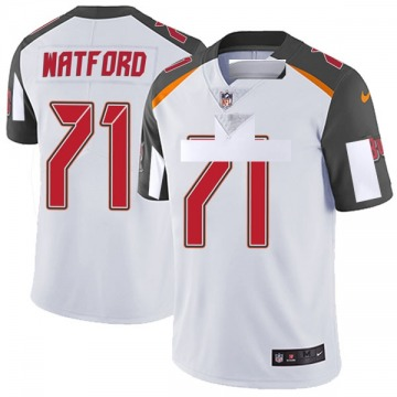 Youth Nike Tampa Bay Buccaneers Earl Watford White Vapor Untouchable Jersey - Limited