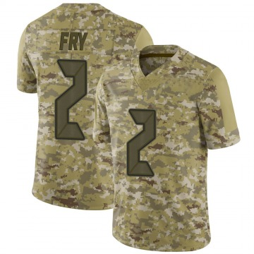 Youth Nike Tampa Bay Buccaneers Elliott Fry Camo 2018 Salute to Service Jersey - Limited