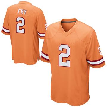 Youth Nike Tampa Bay Buccaneers Elliott Fry Orange Alternate Jersey - Game