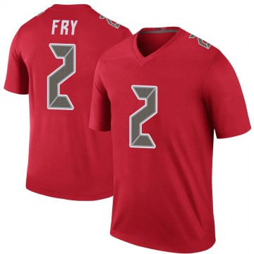 Youth Nike Tampa Bay Buccaneers Elliott Fry Red Color Rush Jersey - Legend