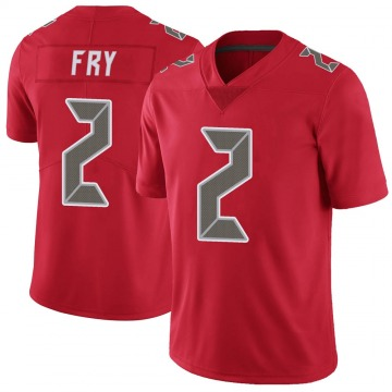 Youth Nike Tampa Bay Buccaneers Elliott Fry Red Color Rush Jersey - Limited