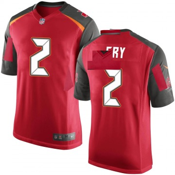 Youth Nike Tampa Bay Buccaneers Elliott Fry Red Team Color Jersey - Game