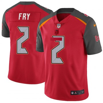 Youth Nike Tampa Bay Buccaneers Elliott Fry Red Team Color Vapor Untouchable Jersey - Limited