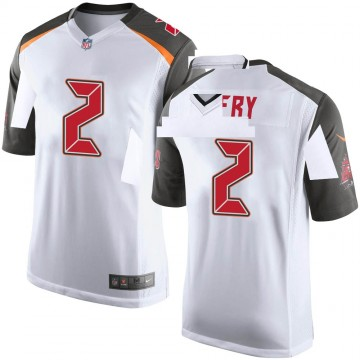 Youth Nike Tampa Bay Buccaneers Elliott Fry White Jersey - Game