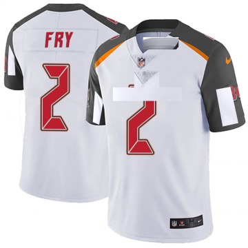 Youth Nike Tampa Bay Buccaneers Elliott Fry White Vapor Untouchable Jersey - Limited