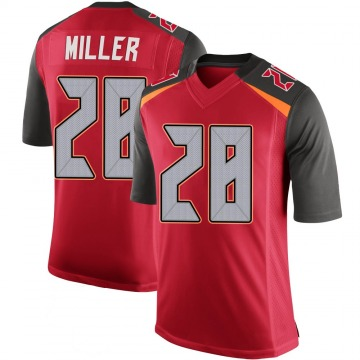 Youth Nike Tampa Bay Buccaneers Herb Miller III Red 100th Vapor Jersey - Limited