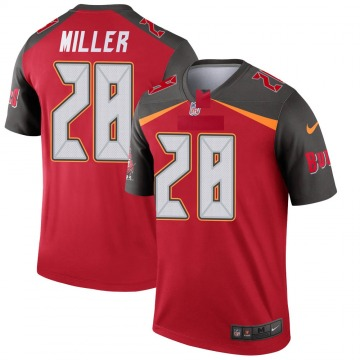 Youth Nike Tampa Bay Buccaneers Herb Miller III Red Jersey - Legend