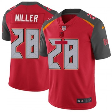 Youth Nike Tampa Bay Buccaneers Herb Miller III Red Team Color Vapor Untouchable Jersey - Limited
