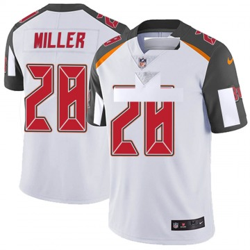 Youth Nike Tampa Bay Buccaneers Herb Miller III White Vapor Untouchable Jersey - Limited