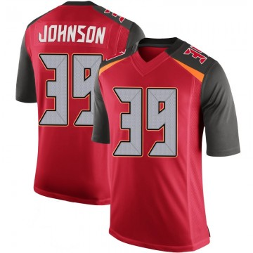 Youth Nike Tampa Bay Buccaneers Isaiah Johnson Red 100th Vapor Jersey - Limited