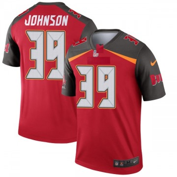 Youth Nike Tampa Bay Buccaneers Isaiah Johnson Red Jersey - Legend
