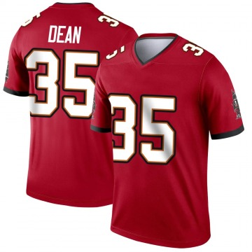 Youth Nike Tampa Bay Buccaneers Jamel Dean Red Jersey - Legend