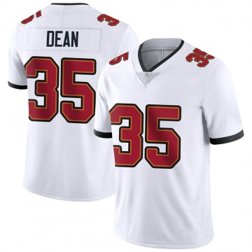 Youth Nike Tampa Bay Buccaneers Jamel Dean White Vapor Untouchable Jersey - Limited