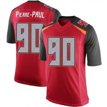 Youth Nike Tampa Bay Buccaneers Jason Pierre-Paul Red 100th Vapor Jersey - Limited