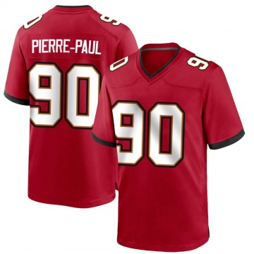 Youth Nike Tampa Bay Buccaneers Jason Pierre-Paul Red Team Color Jersey - Game