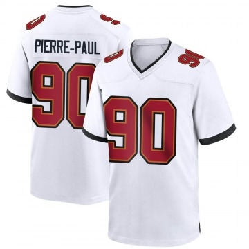 Youth Nike Tampa Bay Buccaneers Jason Pierre-Paul White Jersey - Game