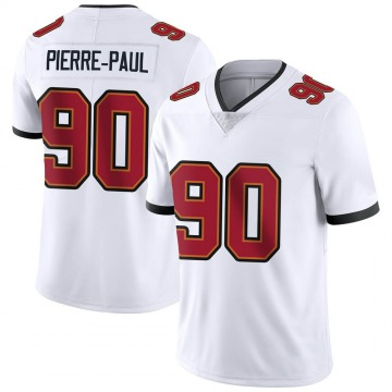 Youth Nike Tampa Bay Buccaneers Jason Pierre-Paul White Vapor Untouchable Jersey - Limited