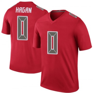 Youth Nike Tampa Bay Buccaneers Javon Hagan Red Color Rush Jersey - Legend