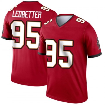 Youth Nike Tampa Bay Buccaneers Jeremiah Ledbetter Red Jersey - Legend