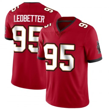 Youth Nike Tampa Bay Buccaneers Jeremiah Ledbetter Red Team Color Vapor Untouchable Jersey - Limited