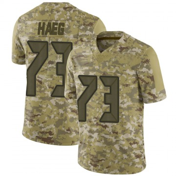 Youth Nike Tampa Bay Buccaneers Joe Haeg Camo 2018 Salute to Service Jersey - Limited
