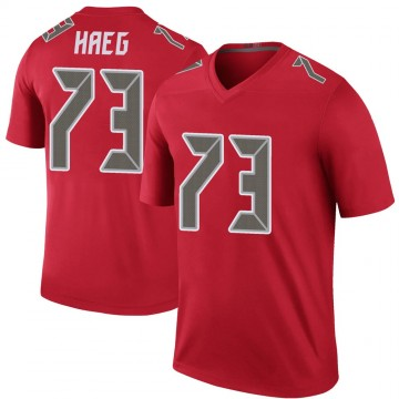 Youth Nike Tampa Bay Buccaneers Joe Haeg Red Color Rush Jersey - Legend