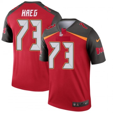 Youth Nike Tampa Bay Buccaneers Joe Haeg Red Jersey - Legend