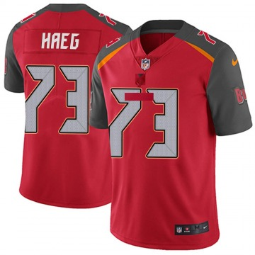 Youth Nike Tampa Bay Buccaneers Joe Haeg Red Team Color Vapor Untouchable Jersey - Limited