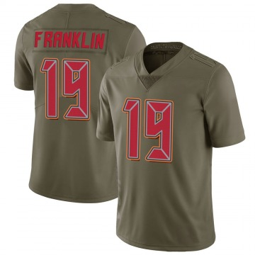Youth Nike Tampa Bay Buccaneers John Franklin III Green 2017 Salute to Service Jersey - Limited