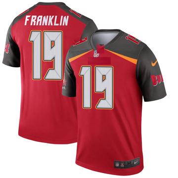 Youth Nike Tampa Bay Buccaneers John Franklin III Red Jersey - Legend