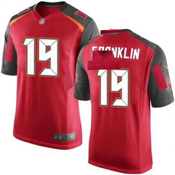 Youth Nike Tampa Bay Buccaneers John Franklin III Red Team Color Jersey - Game
