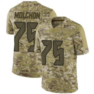 Youth Nike Tampa Bay Buccaneers John Molchon Camo 2018 Salute to Service Jersey - Limited