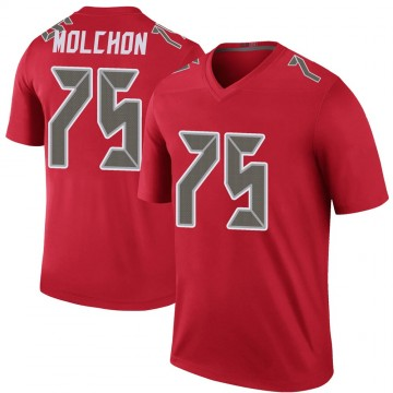 Youth Nike Tampa Bay Buccaneers John Molchon Red Color Rush Jersey - Legend