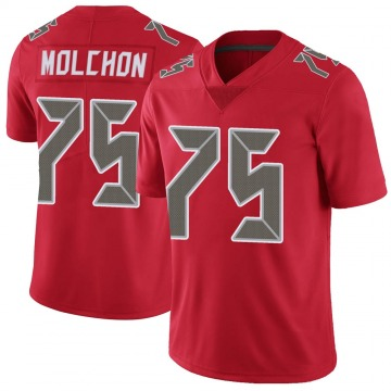 Youth Nike Tampa Bay Buccaneers John Molchon Red Color Rush Jersey - Limited