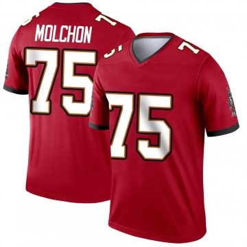 Youth Nike Tampa Bay Buccaneers John Molchon Red Jersey - Legend