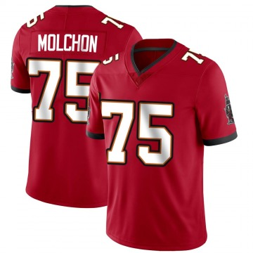 Youth Nike Tampa Bay Buccaneers John Molchon Red Team Color Vapor Untouchable Jersey - Limited