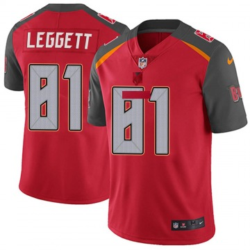 Youth Nike Tampa Bay Buccaneers Jordan Leggett Red Team Color Vapor Untouchable Jersey - Limited