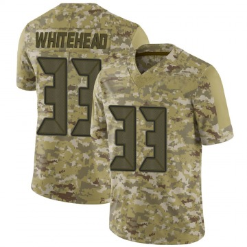 Youth Nike Tampa Bay Buccaneers Jordan Whitehead White Camo 2018 Salute to Service Jersey - Limited