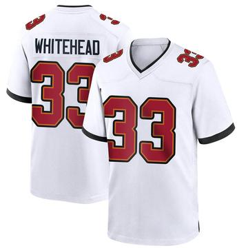 Youth Nike Tampa Bay Buccaneers Jordan Whitehead White Jersey - Game