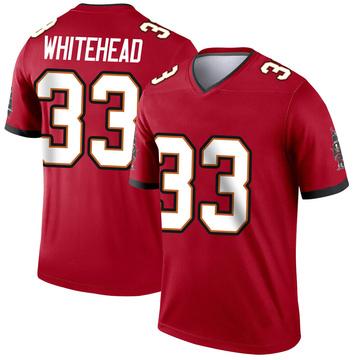 Youth Nike Tampa Bay Buccaneers Jordan Whitehead White Red Jersey - Legend