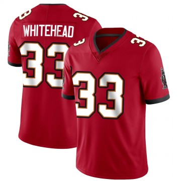 Youth Nike Tampa Bay Buccaneers Jordan Whitehead White Red Team Color Vapor Untouchable Jersey - Limited