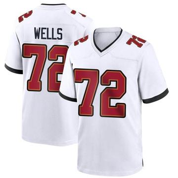 Youth Nike Tampa Bay Buccaneers Josh Wells White Jersey - Game